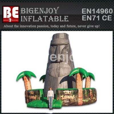 Giant Inflatable Tiki Island Jungle Climbing