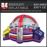 All in one sports game,inflatable defender dome arena,inflatable defender