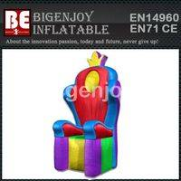 Inflatable King Throne,Inflatable for kids party,IThrone kids party