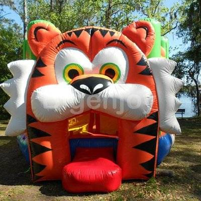 2016 new Inflatable Tiger Jumping Castles