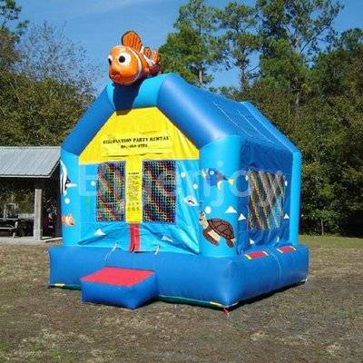 Kids Inflatable Nemo Bounce House Jumping