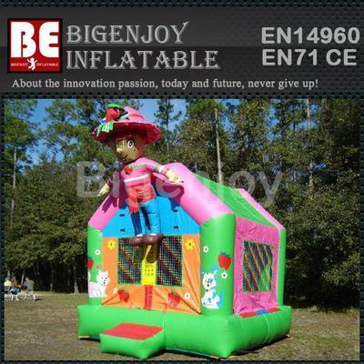 Inflatable Bouncy Castle Strawberry Shortcake Girl