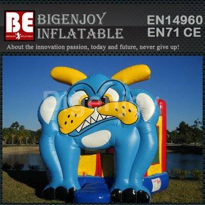 Bouncer Bull Dog Inflatable Moonwalk