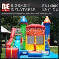 4 in 1 combo inflatable,Crayola Slide combo inflatable,combo bouncer inflatable