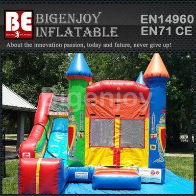 4 in 1 Crayola Slide combo bouncer inflatable