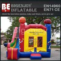 Sports theme inflatable,bounce jumper combo,inflatable combo