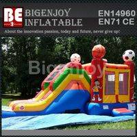 Inflatable bouncer,water slide combo,Inflatable combo