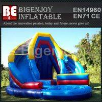 Inflatable Water Slide,Double King Water Slide,Commercial Inflatable Slide