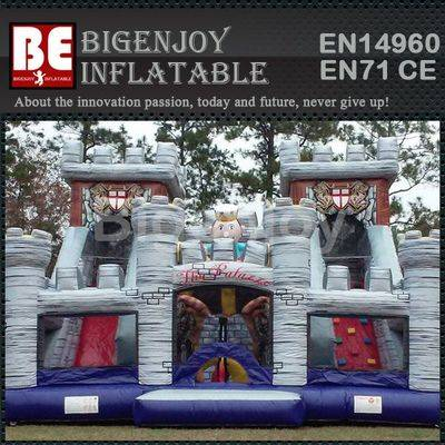 New Design Inflatable Slide Combo Castle