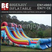 Bazer wave slide,Bazer wave inflatable,inflatable pvc material  slide