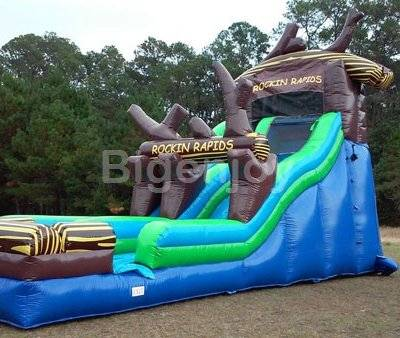 Rocking Rapids inflatable Water Slide