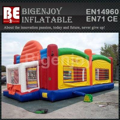 Inflatable Multi Play Activity Centre