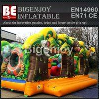 Inflatable Jungle Bouncer,Topical Palm Tree Bouncer,Tree Jungle Bouncer