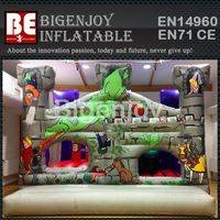 Inflatable dragon city,Inflatable bounce house,playground bounce house