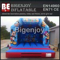 minnie jumping bouncer slide,Inflatable mickey bouncer slide,Inflatable bouncer slide