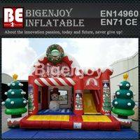Christmas holiday inflatable,inflatable bounce around,Christmas inflatable bounce