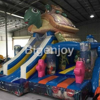 Cute Tortoise turtle inflatable bouncer