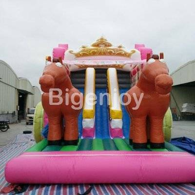Princess theme inflatable bounce house for sale