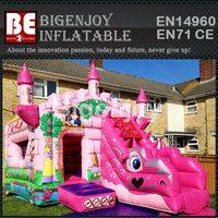 Inflatable dragon castle combo,Inflatable princess combo,Inflatable dragon princess castle