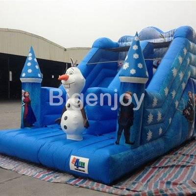 Frozen Princess Commercial Grade Inflatable Slide