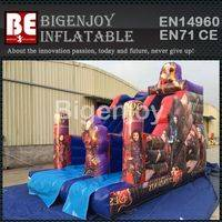 Inflatable Bouncer Slide,Descendant Theme Bouncer,Inflatable Slide