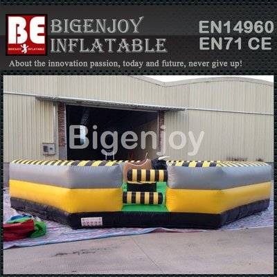 Inflatable mechanical bull inflatable rodeo bull