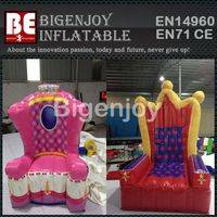 Princess inflatable throne,inflatable chair,inflatable throne for event