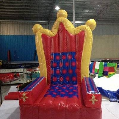 Princess inflatable throne chair for event