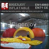 Inflatable camping tent,tent with en14960,Inflatable tent