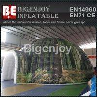 Airtight tent,inflatable camouflage tent,portable inflatable tent