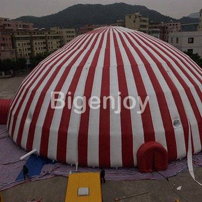 Large igloo outdoor camping inflatable air dome tent