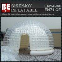 Transparent clear tent,inflatable lawn tent,airtight version tent