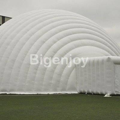Gant white exhibition inflatable tent