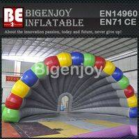 inflatable shell tent,Exhibition inflatable tent,outdoor inflatable tent