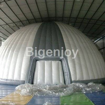 Advertising rip stop inflatable dome tent