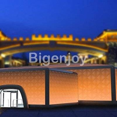 Professional giant inflatable blow up tent bar building