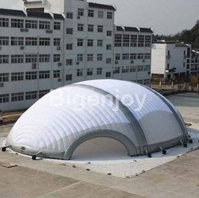 0.55mm pvc exhibition inflatable tent