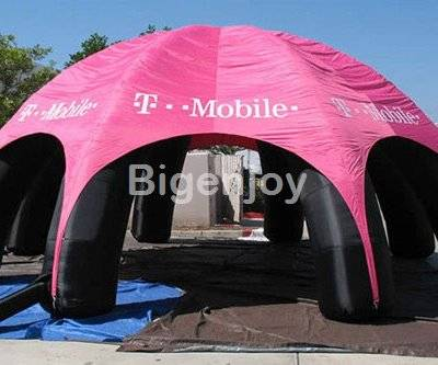 Outdoor advertising inflatable dome tent