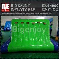 Inflatable water Cliff,climbing wall for aqua park,Inflatable climbing wall