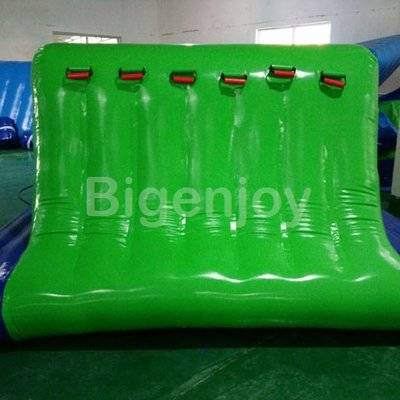 Inflatable water Cliff climbing wall for aqua park