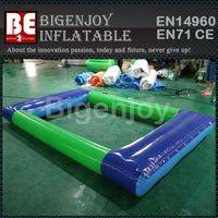 float pond play module,PVC inflatable pond,water float pond module