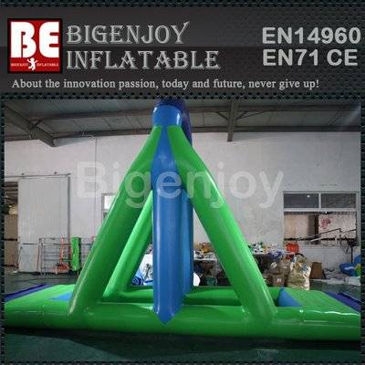 Inflatable water equipment water swing game