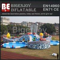Large Inflatable Swimming Pool,Swimming Pool Water Park,Inflatable Water Park