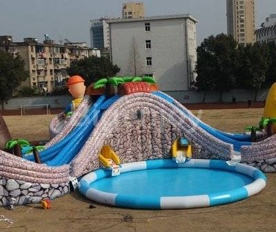 Large Inflatable Swimming Pool Water Park