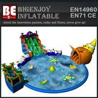 Water Spray Swimming Pool,Swimming Pool Slide Inflatable,Inflatable Water Park
