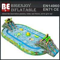 Water park inflatable,water pool for kids and adults,inflatable water pool