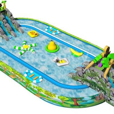 Water park inflatable water pool for kids and adults