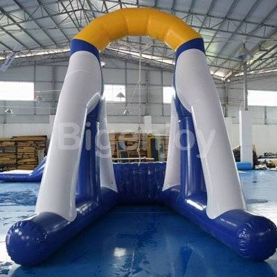 Water Pool Inflatable Water Obstacle Course For Sale