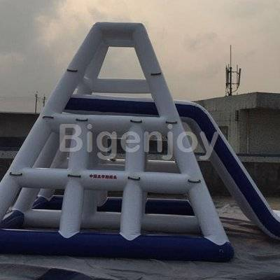 Adults Inflatable Water Climbing Tower With Slide