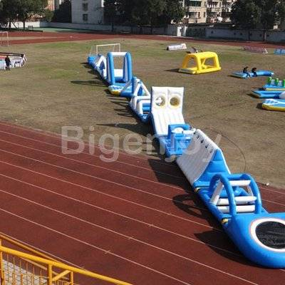 Giant Inflatable Water Park For Lake Resort